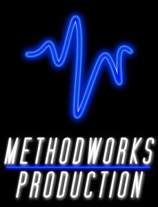 Methodworks Logo Profile Colour on Black 229x300