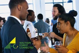 Waltham Forest Connected business support event on Zoom